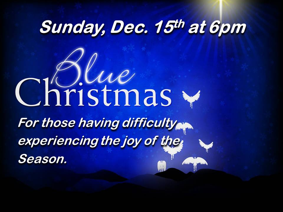 Blue Christmas 2019