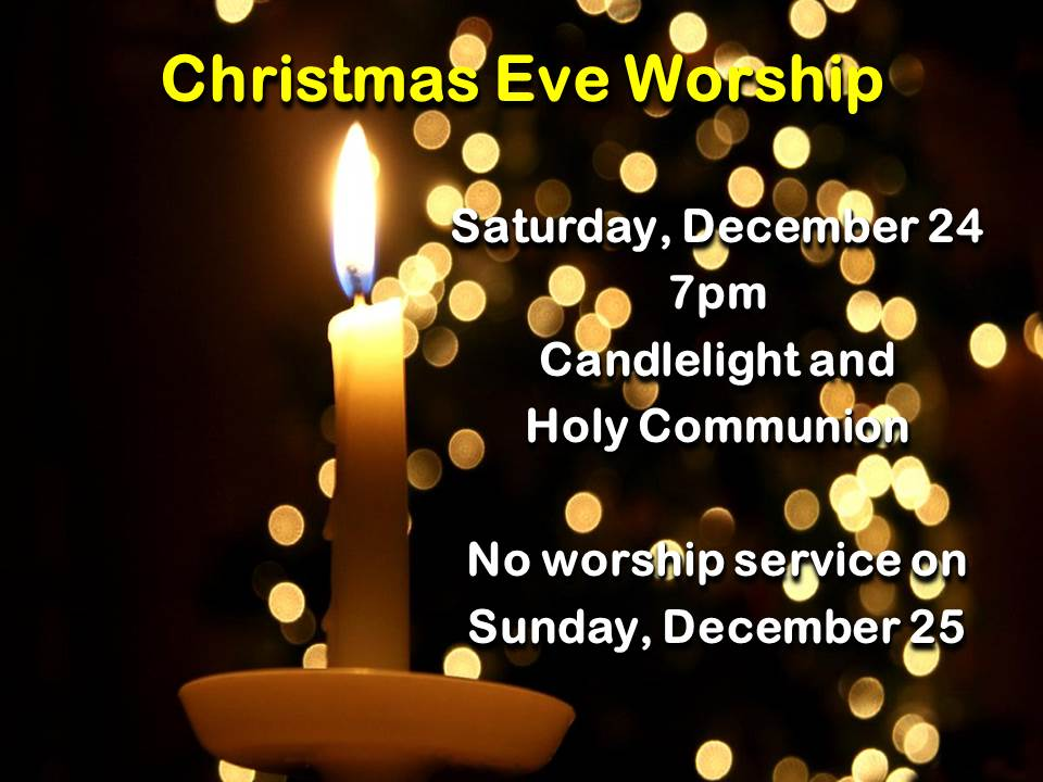 Christmas Eve Worship 2016