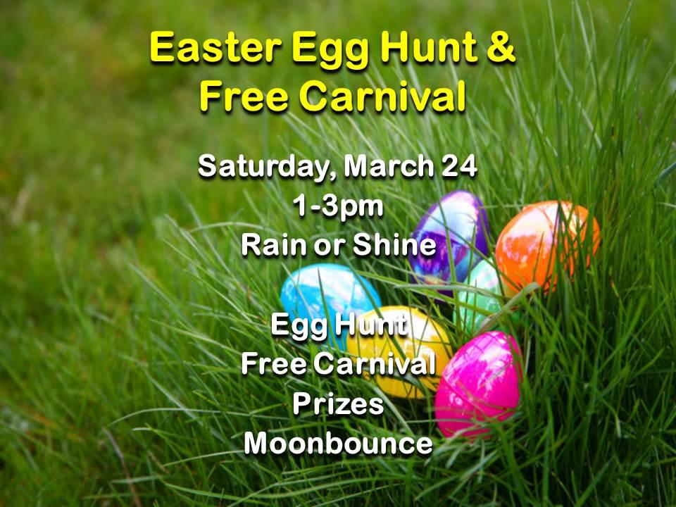 Easter Egg Hunt  Slide 2018