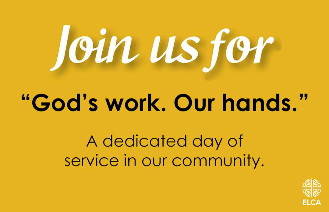 God's Work Our Hands Sunday