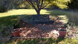 Our Meditation Garden is a quiet place for reflection and prayer