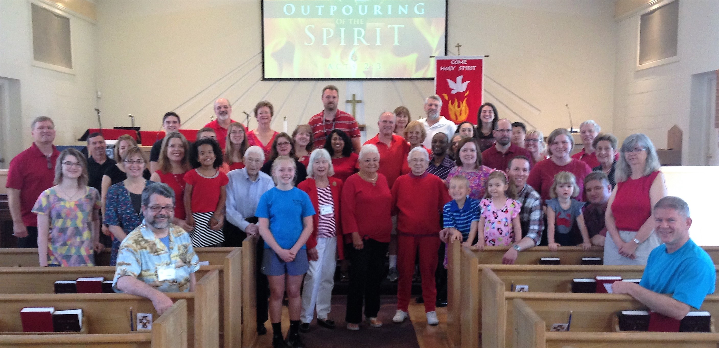 St. Luke's congregation Pentecost 2017