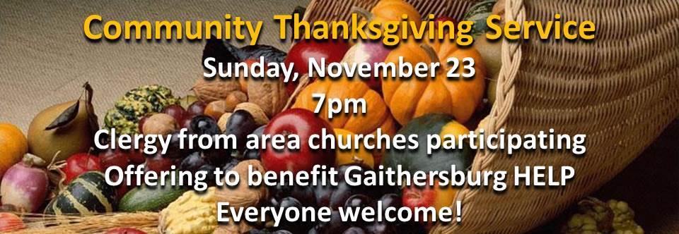 Thanksgiving Service banner2