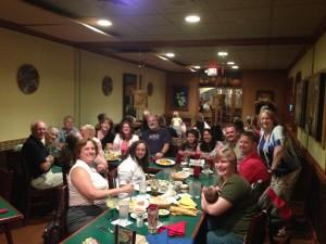 Dinner Together 8-21-2013