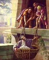 Paul in Damascus Basket