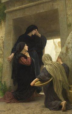 Easter tomb women