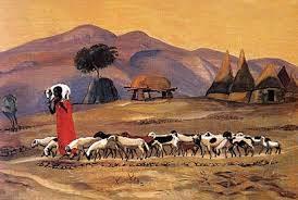 Good Shepherd African Art