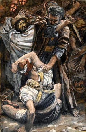 Jesus heals soldiers ear